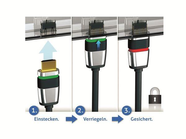 HDMI-Kabel PURELINK Ultimate ULS1000-005, 0,5 m - Produktbild 3