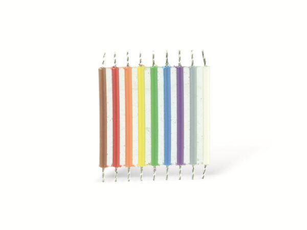 Flachbandleitung, 9-polig, 20 mm, 10 Stück - Produktbild 1
