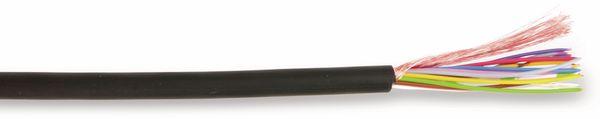 Miniatur-Steuerleitung LifYDY, höchstflexibel, geschirmt, 32x0,05 mm², 5 m