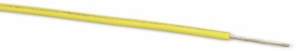 Schaltlitze LEONI LIYW, 1x0,22, gelb, 50 m - Produktbild 1