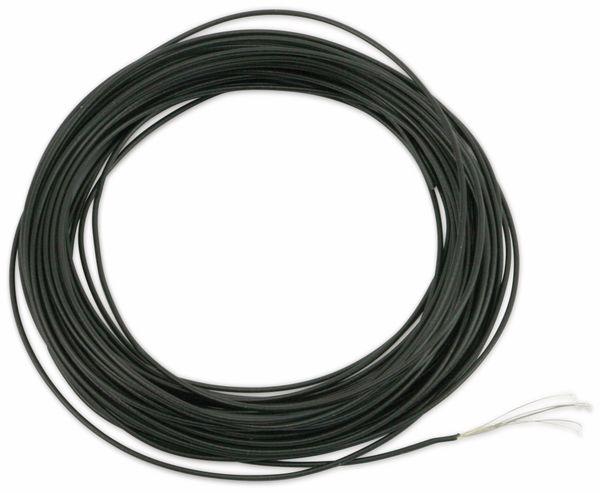 Schaltlitze LEONI FLRY 0,22SN-A, 1x0,22, schwarz, 10 m - Produktbild 2