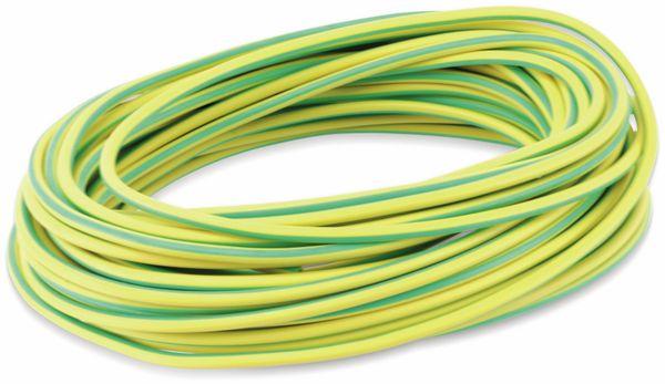 Silikon-Litze, 1,5 mm², grün/gelb, 10 m - Produktbild 2