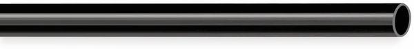 PVC Isolierschlauch 6x0,5 mm, schwarz, 10m