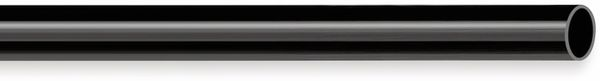 PVC Isolierschlauch 7x0,5 mm, schwarz, 10m