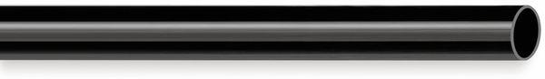 PVC Isolierschlauch 8x0,5 mm, schwarz, 10m
