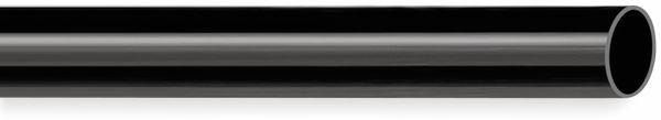 PVC Isolierschlauch 12x0,5 mm, schwarz, 10m