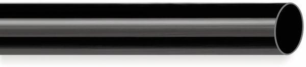 PVC Isolierschlauch 18x0,5 mm, schwarz, 10m
