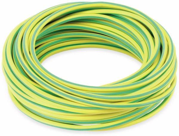 Silikon-Litze, 4 mm², grün/gelb, 10 m - Produktbild 2