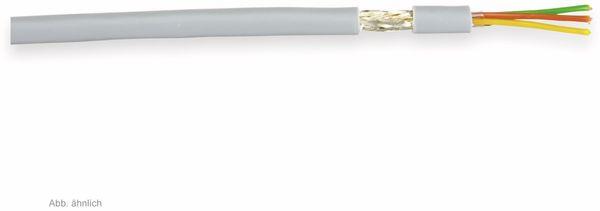 Steuerleitung LIYCY, 4x0,25 mm², grau, 10 m