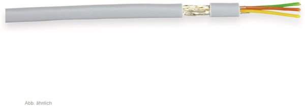 Steuerleitung LIYCY, 6x0,25 mm², grau, 10 m
