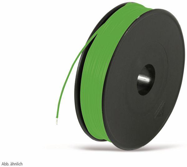 Litze, 1x0,50, 100m Spule, grün, LIYV