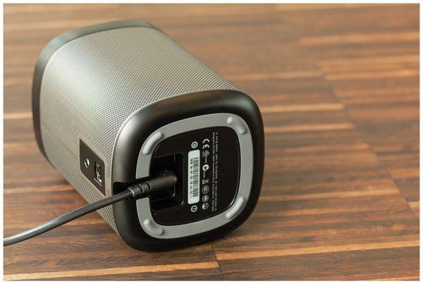 Euro-Netzkabel mit Doppelnutkupplung, schwarz, 5m, 90°, geeignet für SONOS PLAY 1 und 5 - Produktbild 3