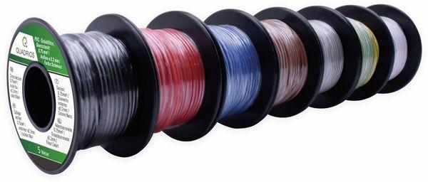 QUADRIOS, 19011CA088, PVC-Schaltlitzen Sortiment, LiFY - 0.75 mm², 7 teilig
