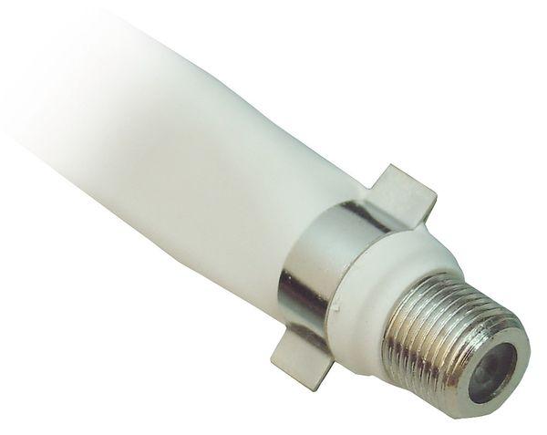 HF-Flachbandkabel, 0,2 m, weiß - Produktbild 2