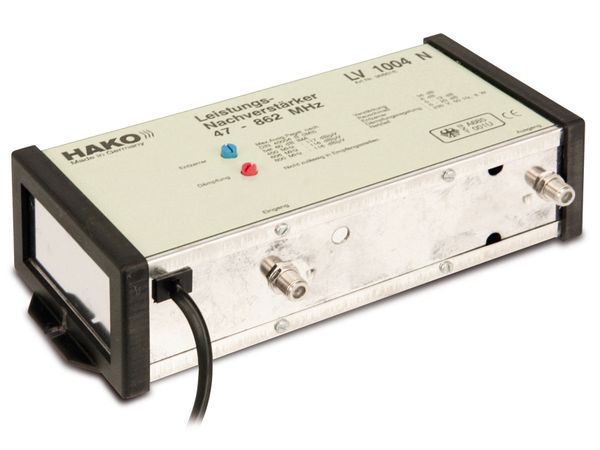 Leistungs-Nachverstärker HAKO LV1004N