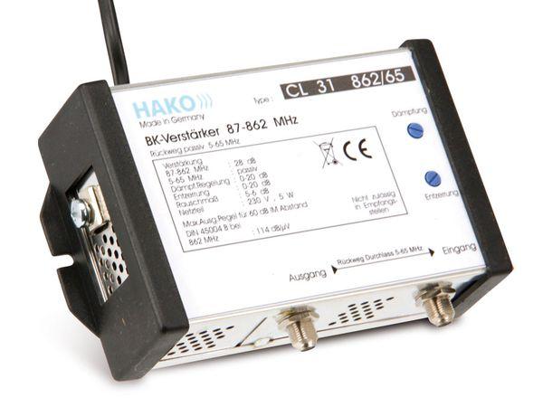 BK-Verstärker HAKO CL31 862/65
