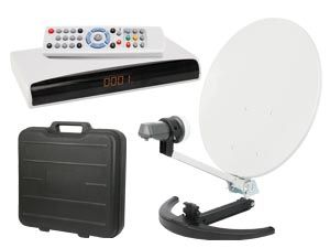 DVB-S/T Camping-SAT-Paket - Produktbild 1