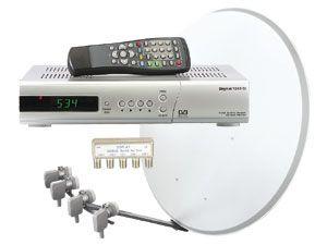 Digitales Satelliten-Komplett-Paket