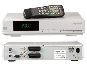 DVB-T-Receiver Digital 1100
