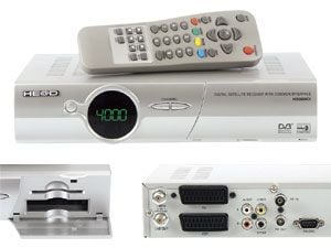 DVB-S Receiver He@d HD3000CI plus