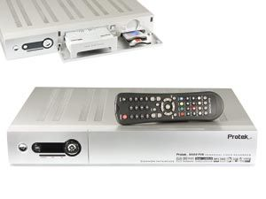 DVB-S Twin-Receiver PROTEK 9500PVR