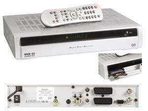 DVB-S Festplatten-Receiver DVR CI