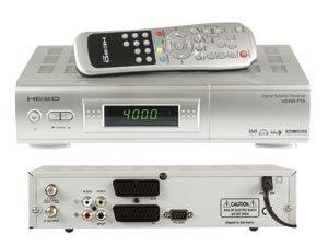 DVB-S Receiver He@d HD500FTA