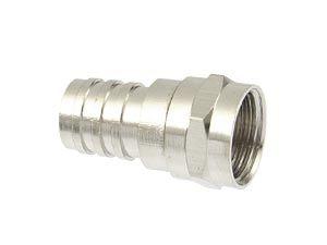 F-Stecker, 7 mm, Crimpmontage