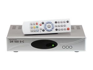 DVB-S Camping-Receiver DR100 S-C