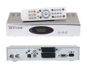DVB-T Festplatten-Receiver DR9T-PVR