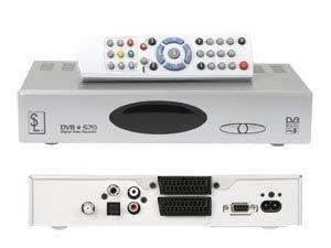 DVB-S Festplatten-Receiver SL DVB-S70