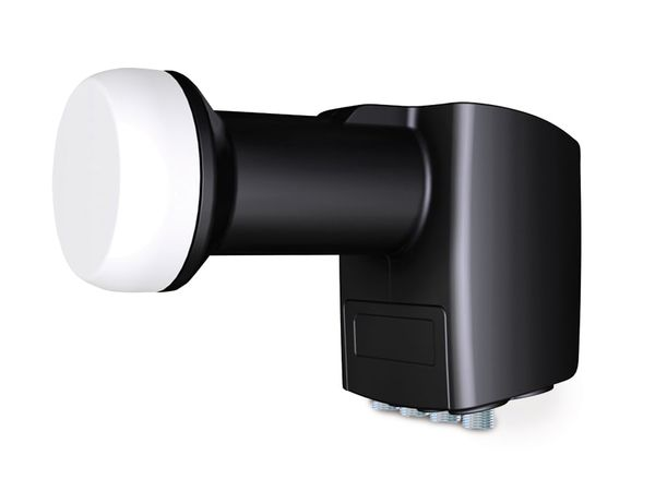 Universal Quad/Terr-LNB INVERTO Black Premium, 0,2 dB