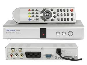 DVB-S Receiver OPTICUM 4000C