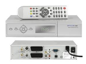DVB-S Receiver OPTICUM 7100CI