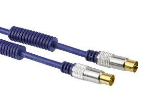 PremiumBlue Antennenanschlusskabel 75 Ω