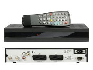 DVB-S Receiver schwarz