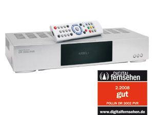 Twin-Festplatten-Receiver DR2002 PVR