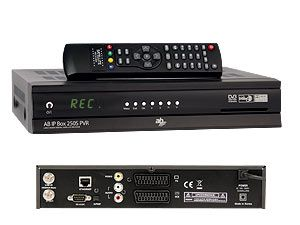 DVB-S PVR-Linux-Receiver AB IPBox 250S BlindScan