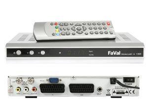 DVB-S Receiver FaVal Mercury S100