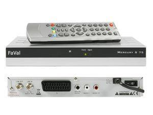 DVB-S Receiver FaVal Mercury S75