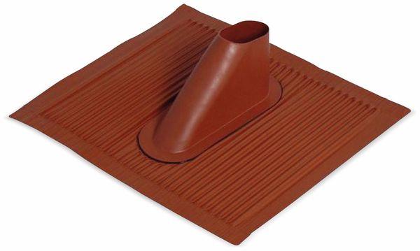 Alu-Dachdurchführung, rot
