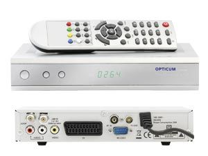 DVB-S Receiver OPTICUM 4100C