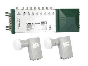 LNB-/Multischalter-Set für 2 Satelliten-Positionen - Produktbild 1
