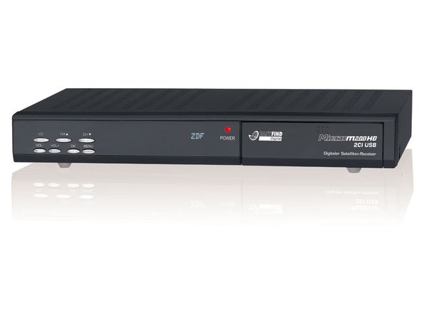 SAT HDTV-Receiver MICRO M200, PVRready - Produktbild 1