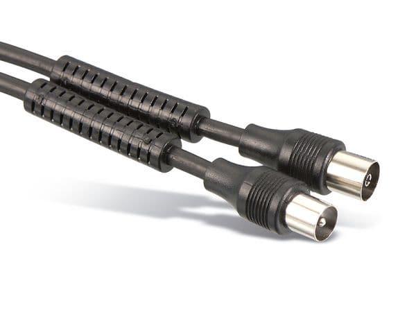 Antennen-Anschlusskabel 75 Ω, 100 Hz