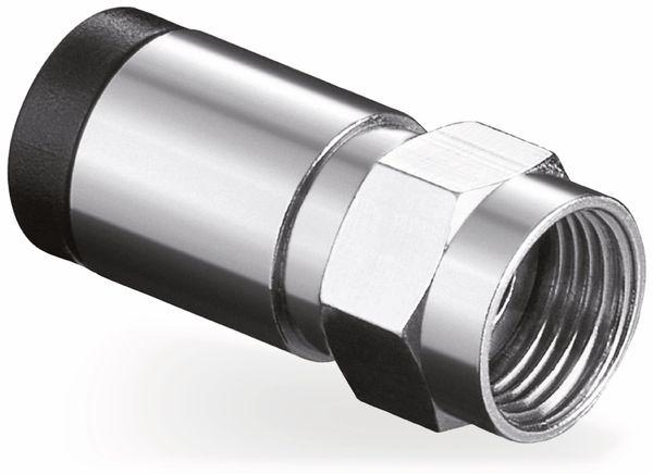 F-Stecker, 7 mm, Kompressionsmontage