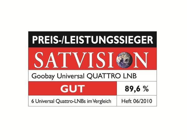 Universal Quatro-LNB GOOBAY - Produktbild 2