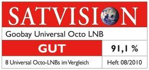 Universal Octo-LNB GOOBAY - Produktbild 2