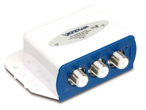 DiSEqC-Schalter VANTAGE VT-DS2/1HQ - Produktbild 1