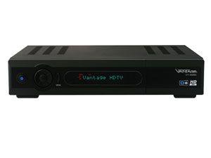 DVB-C HDTV Twin-Receiver VANTAGE VT-600C, CI+, USB - Produktbild 1